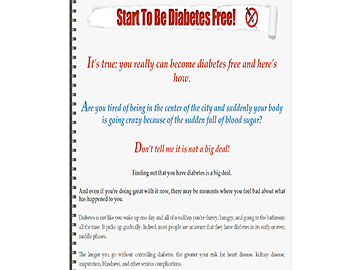 Diabetes Revolutionary Care Plan