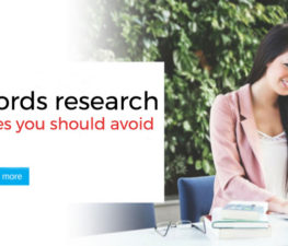 Keywords research mistakes you should avoid