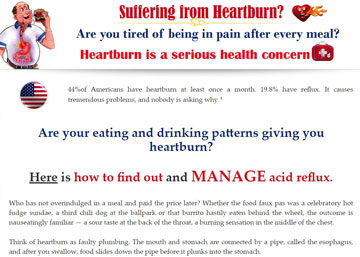 The Heartburn Switch Program