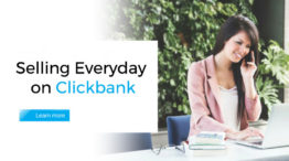 Selling Everyday on Clickbank